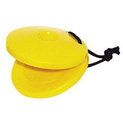 Plastic Finger-Size Castanet(color may vary)