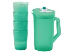 Tupperware Mini Serve It Pitcher and Tumblers Set