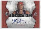 Josh Boone #87 100 New Jersey Nets (Basketball Card) 2006-07 SP Authentic Sign of the... by SP Authentic