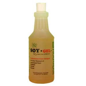 SOY-Gel Paint and Urethane Remover, Quart image