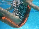 Flip & Float Floating Pool Lounger, Orange by Flip & Float jetzt kaufen