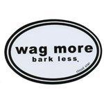 wag-more-bark-less-bumper-sticker-white-black