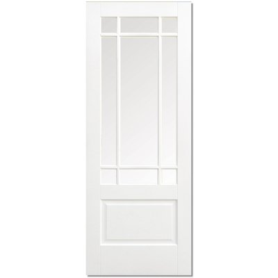 LPD Door, Interior Internal Door, Solid White Primed - Downham - 80