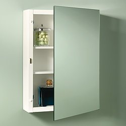 NuTone 268P26WH Topsider Single-Door Surface Mounted Medicine Cabinet