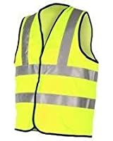 2X High Visibility Childrens Safety Vest Waistcoat Jacket Small Size