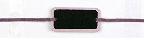 Déco-Sono - 6 ardoises bracelet lilas