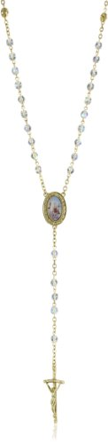 The Vatican Library Collection Gold-Tone Crystal Pope John Paul Ii Rosary