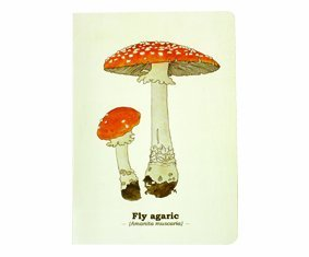 Gift Republic Ltd Fungi A5 Notebook Multicoloured цена