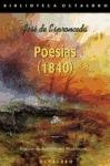 echange, troc JOSE ESPRONCEDA - Poesias (1840)