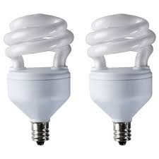 Ikea Sparsam Dudero Low Energy E12 9 Watt Bulb - Set of 2