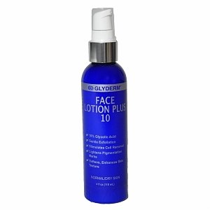 GlyDerm Face Lotion Lite Plus 10 4 fl oz.