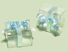 AMSCAN INC. Baby Boy Favor Box