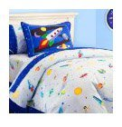 Olive Kids Out of This World Cotton Duvet Cover, Twin