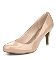M&S Collection Wide Fit Stiletto High Heel Court Shoes with Insolia®