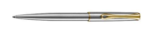 Diplomat Traveller - Bolígrafo, color cromo y dorado [Importado]