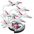 F-16A Falcon Thunderbirds in Formation Model Display