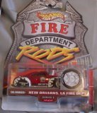 Hot Wheels Fire Department Rods Series 2 #11 11/12 New Orleans, LA Fire Dept. Tail Dragger - 1