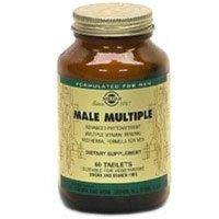 27095772- 33984000000 Multivitamin Male Multiple Men Tablets Vegetarian 60 Per Bottle By Solgar Vitamin & Herb Co -Part No. 33984000000 -27095772
