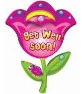 32 Get Well Soon Flower B260