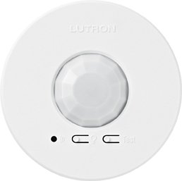 Lutron (LRF2-OCR2B-P-WH) Radio Powr Savr Wireless Ceiling-Mounted Occupancy/Vacancy Sensor