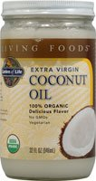 Garden of Life - Extra Virgin Coconut Oil 100% Organic, 32 fl oz oil