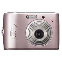 Nikon Coolpix L15 8MP Digital Camera with 3x Optical Vibration Reduction Zoom (Pink)