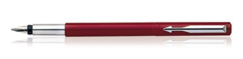 Parker Vector Standard Calligraphy CT Fountain Pen, Red  available at amazon for Rs.360