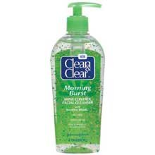 Johnson And Johnson Clean And Clear Morning Burst Shine Control Facial Cleanser, 8 Ounce -- 24 Per Case. front-1037690