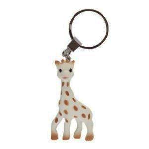 Imagen de Sophie The Vanilla Giraffe dentición Ring - Caja de Regalo! - Plus Sophie la jirafa llavero anillo de dentición