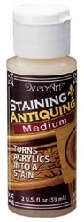 Bulk Buy: Deco Art Staining/Antiquing Medium 2 Ounce DS51-2 (6-Pack)
