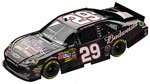 Kevin Harvick #29 Military Tribute 2011 1:24 Flashcoat Color
