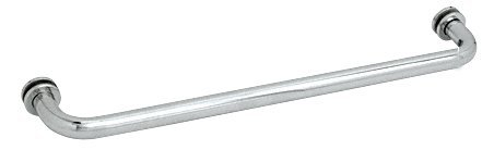 "Crl 26"" Chrome (Bm Series) Tubular Single-Sided Towel Bar front-511937"