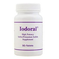 Iodoral (High Potency Iodine/Potassium Iodide Supplement) 12.5 mg 90 Tablets