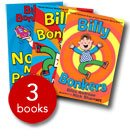 Nick Sharratt Billy Bonkers x 3 copy pack - The Book People
