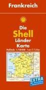 Shell Länderkarte Frankreich 1 : 750 000: Mit