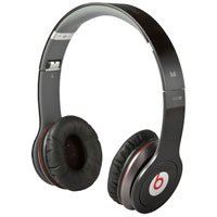 Monster Cable Beats Solo High-Definition On-Ear Headphones with Control Talk (Black)