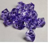 Tanday 1 Pounds Purple Acrylic Ice Rock Vase Filler Gems or Table Scatter
