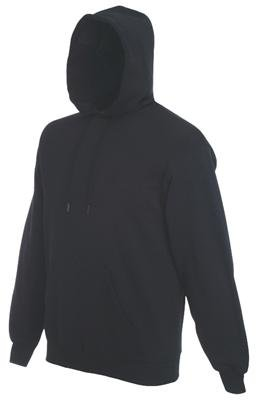 sweatshirt-hooded-sweat-fruit-of-the-loom-schwarzl