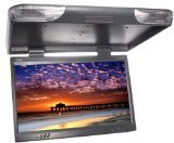 Absolute PFL-2300IRG 23-Inches TFT LCD Overhead Flip Down Monitor with Built-In IR Transmitter and Remote Control (Grey)