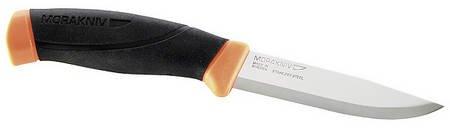 mora-couteau-companion-acier-sandvik-12c27-stahl-bicolore-manche-neonfarbene-housse-avec-clip-de-cei