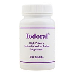 Optimox Iodoral 180 tablets