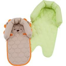 Carter'S Child Of Mine 2 In 1 Duo Head Support, Lion (Green/Baige) front-171659