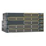 Cisco Catalyst 3560X Switch 24-Port 10/100/1000 Ethernet PoE+ 4x 1Gb & 2x 10Gb Uplinks IP-Base WS-C3560X-24P-S