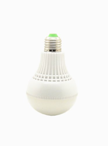12Vmonster ® Warm White 6Volt Edison Screw E26 Led Light Bulb 3W = 25W 6X 5630 Led Cluster Usb 6 Volt Battery Powered