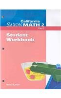 Saxon Math 2 California: Individual Student Unit 2008