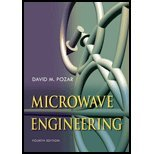 Microwave Engineering By Pozar, David M. [Wiley,2011] (Hardcover) 4Th Edition