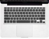 Kuzy - CLEAR Keyboard Silicone Cover Skin for Macbook / Macbook Pro 13 15 17 Aluminum Unibody / Macbook Air 14