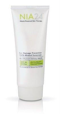 NIA24 Sun Damage Prevention 100% Mineral Sunscreen 2.5 fl oz (75 ml)