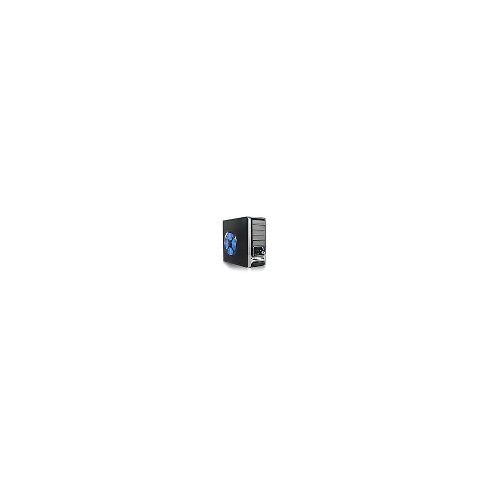 Pixxo Black Gaming ATX Computer Case with temperature control device Sales