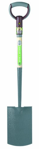 Spear & Jackson R600 ProActive Digging Spade - 28 Inch Handle